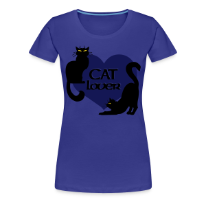 Fat Cat Shirts Women's Cat T-shirt Plus Size - Women's Premium T-Shirt