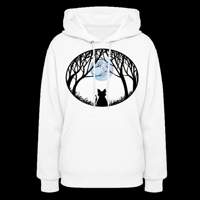 Cat Lover Hoodie Women's Cat Sweatshirt Jacket