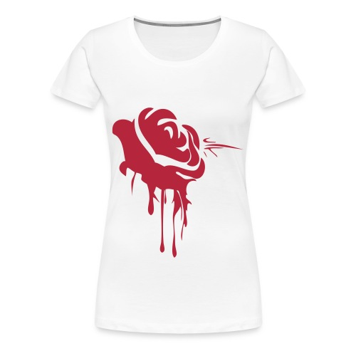 TRUU NATION ROSE WOMENS TEE - Women's Premium T-Shirt