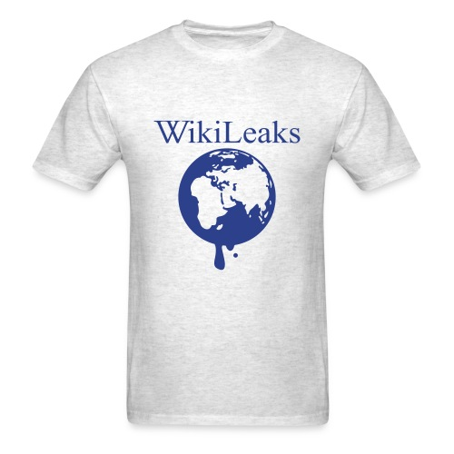 WikiLeaks (Male) - Men's T-Shirt