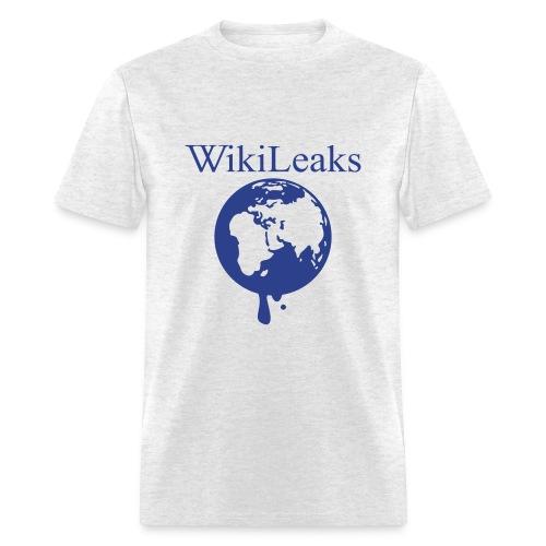 WikiLeaks (Male) - Men's T-Shirt