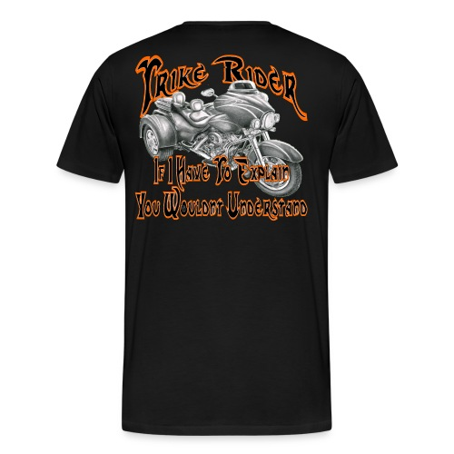 Trike Rider - Men's Premium T-Shirt