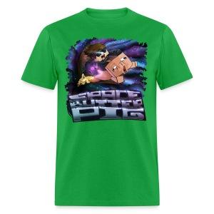 Men's T Shirt: SPACE BUTTER PIG! - Men's T-Shirt