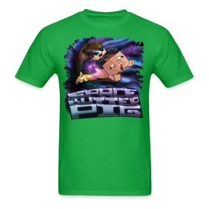 Men's T Shirt: SPACE BUTTER PIG! - Men's T-Shirt