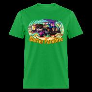 T-Shirts ~ Men's T-Shirt ~ Men's T Shirt: BUTTER PARADISE!