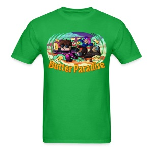 Men's T Shirt: BUTTER PARADISE! - Men's T-Shirt