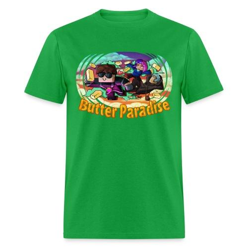 Men's T Shirt: BUTTER PARADISE! - Men's T-Shirt