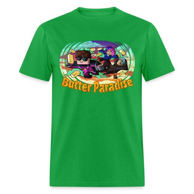 Men's T Shirt: BUTTER PARADISE!