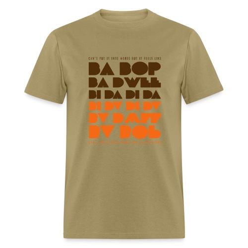 Ba Bop Ba Dwee Cream Tee (Men) - Men's T-Shirt
