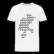 T-Shirts ~ Men's Premium T-Shirt ~ Zacatecas De Corazon   Caballero