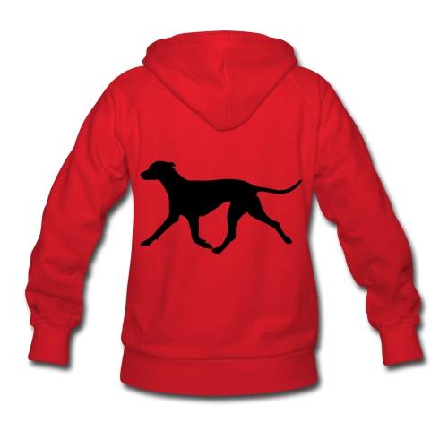 Customizable Hoodie w/ Dog Women's black print - Women's Hoodie