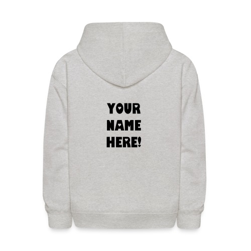 Customized Sweat Shirt - Kids' Hoodie