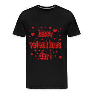 happy valentines day - Men's Premium T-Shirt