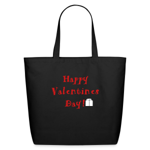Happy Valentines Day - Eco-Friendly Cotton Tote