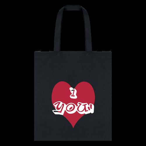 i heart you - Tote Bag