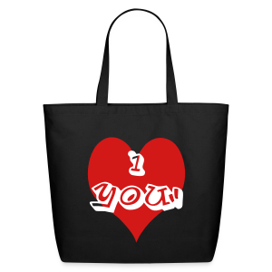 i heart you - Eco-Friendly Cotton Tote