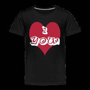 i heart you - Toddler Premium T-Shirt