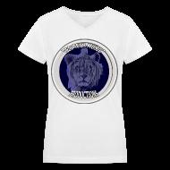 Women's T-Shirts ~ Women's V-Neck T-Shirt ~ Article 14409653