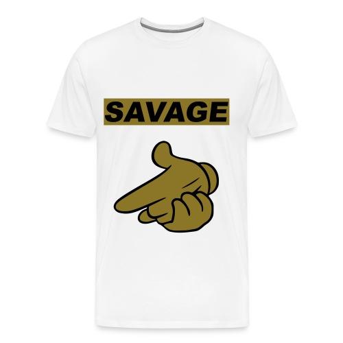 Savage Life Shirt - Men's Premium T-Shirt