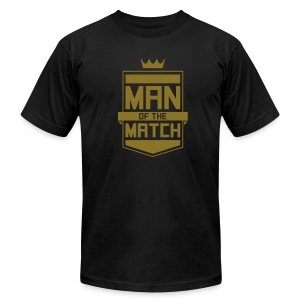 Man of the Match Men's Tee - Men's T-Shirt by American Apparel