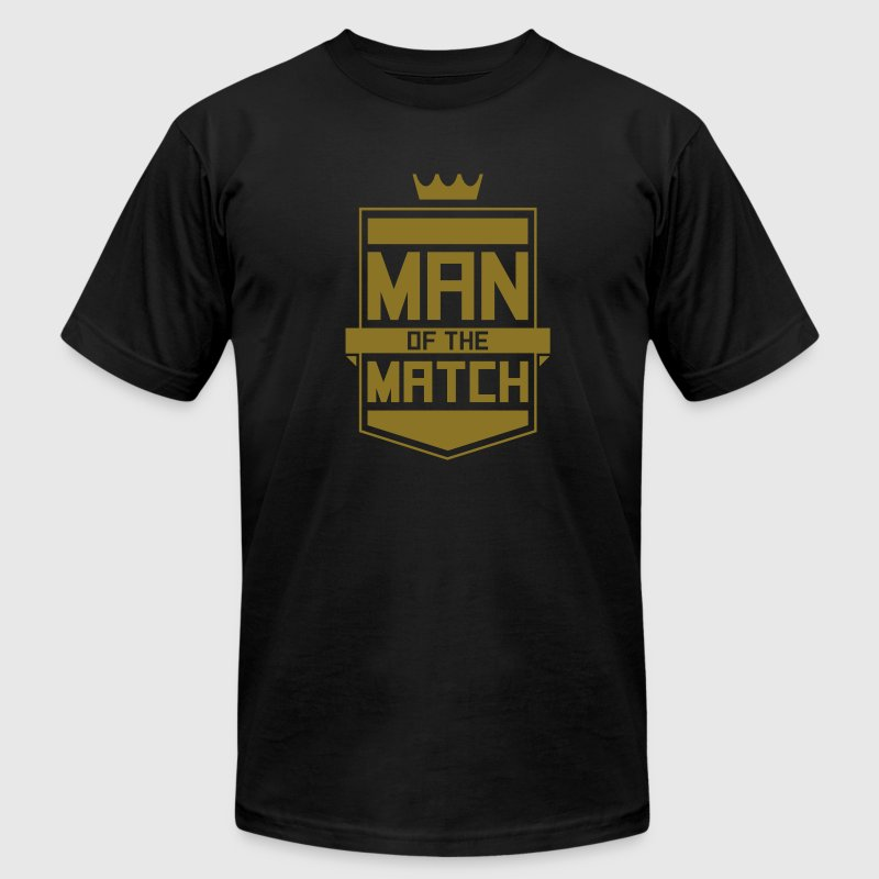 Man of the Match T-Shirts - Men's T-Shirt by American Apparel