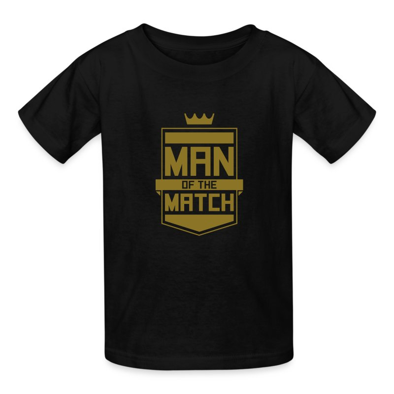 Man of the Match Youth Tee - Kids' T-Shirt