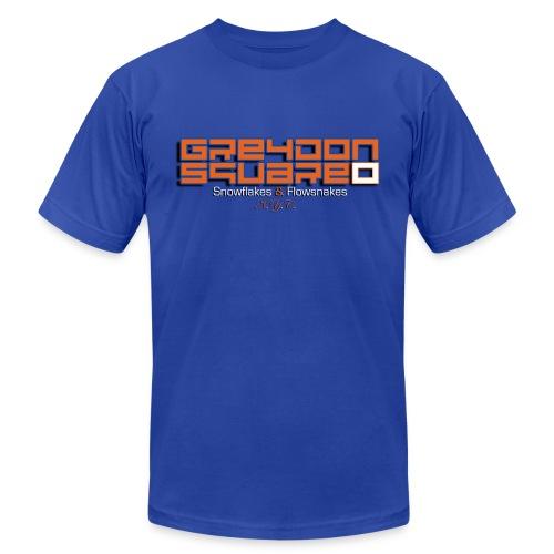 Orange & Blue Greydon Square NYC Tee - Men's Fine Jersey T-Shirt