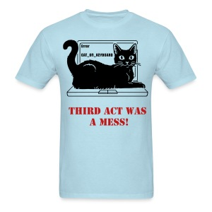 WRITER'S T-SHIRT THIRD ACT REVISED - Men's T-Shirt