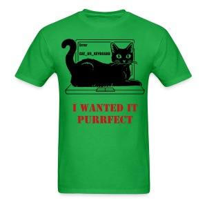 WRITER'S T-SHIRT REWRITE PURRFECT - Men's T-Shirt