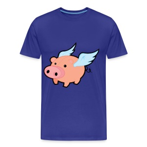 The Flying P.I.G.S. T-Shirt - Men's Premium T-Shirt