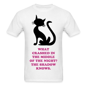 SHADOW KNOWS T-SHIRT CRASH - Men's T-Shirt