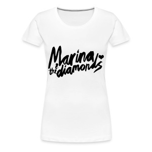 Marina & the Diamonds tee - Women's Premium T-Shirt