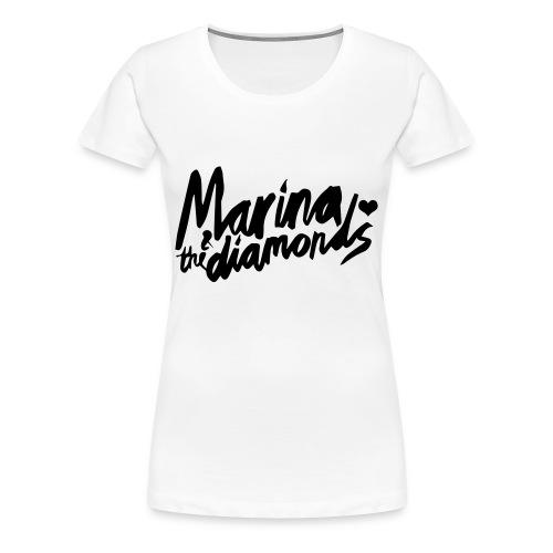 Marina & the Diamonds tee - Women's Premium T-Shirt