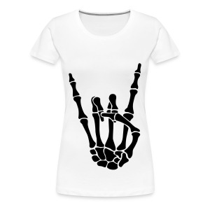 Bones rock on tee - Women's Premium T-Shirt