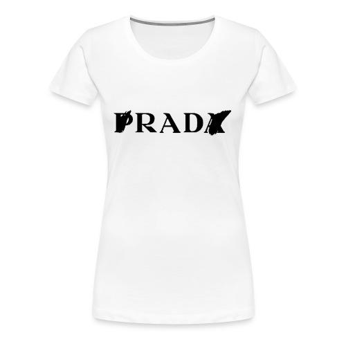 Prada//Rad tee - Women's Premium T-Shirt