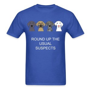 USUAL SUSPECTS T-SHIRT FOR MEN BLUE - Men's T-Shirt