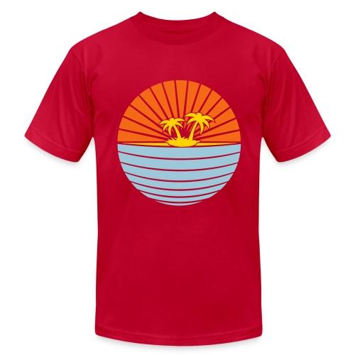 paradise eggplant - Men's Fine Jersey T-Shirt
