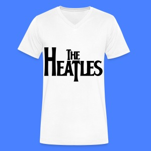 The Heatles T-Shirts - Men's V-Neck T-Shirt by Canvas