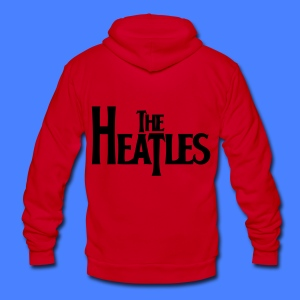 The Heatles Zip Hoodies & Jackets - Unisex Fleece Zip Hoodie by American Apparel