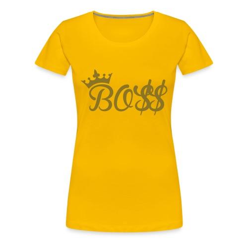 Boss Women's Tee - Women's Premium T-Shirt