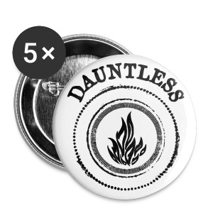 Divergent DAUNTLESS Pins - Large Buttons