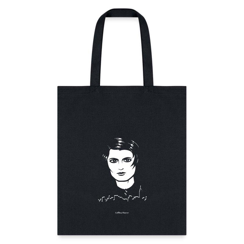 ayn_rand_tshirt_blank_bg - Tote Bag