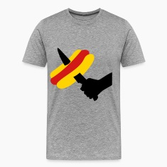 knife and HOT  DOG T-shirts