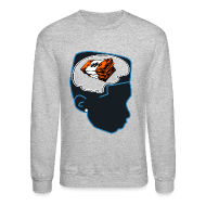 Long Sleeve Shirts ~ Men's Crewneck Sweatshirt ~ Jordan bobcat 10s sweatshirt Money on my mind Jordan 10 bobcats crewneck