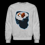 Long Sleeve Shirts ~ Men's Crewneck Sweatshirt ~ Jordan bobcat 10s sweatshirt Money on my mind Jordan 10 bobcats crewneck