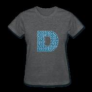 Women's T-Shirts ~ Women's T-Shirt ~ Women's Logo D T-shirt