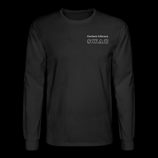 Men's T Long Sleeve Silver Glitz SWAT