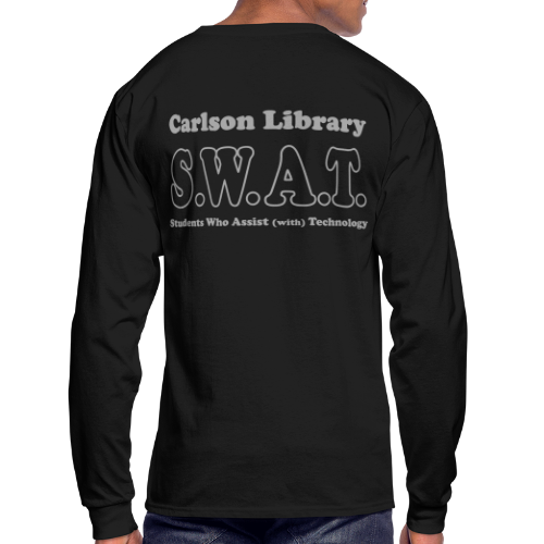 Men's T Long Sleeve Silver Glitz SWAT - Men's Long Sleeve T-Shirt