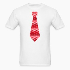 Tie hearts T-shirts