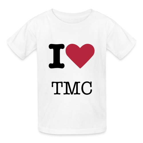 I Heart TMC Plain T-Shirt - Kids' T-Shirt